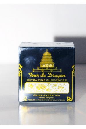 Thé Vert de Chine Extra Gunpowder