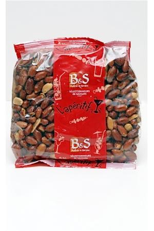 Cacahuètes (Arachides) Brunes Grillées Salées