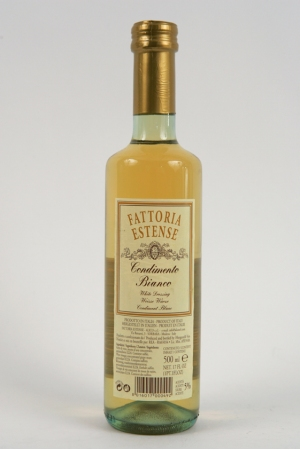 Vinaigre de Vin au Moût de Raisin Concentré - Condiment Blanc