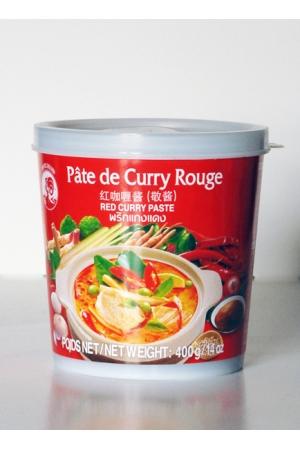 Pâte de Curry Rouge